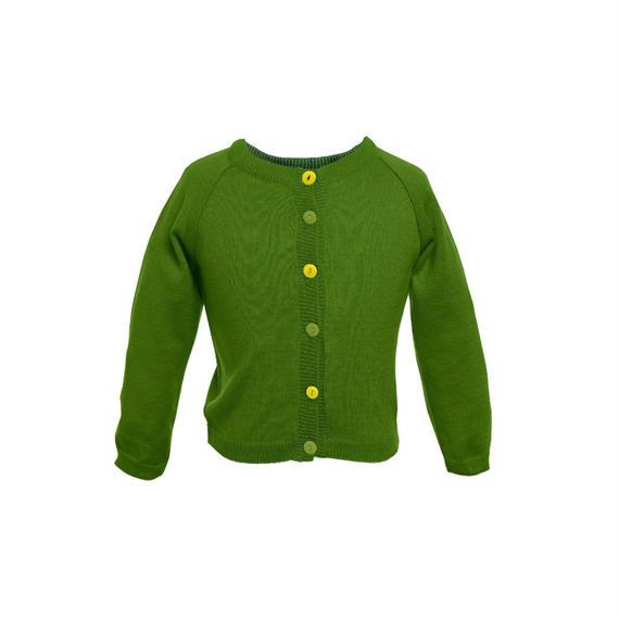classic cardigan/green/1-4y