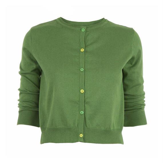 classic cardigan/green
