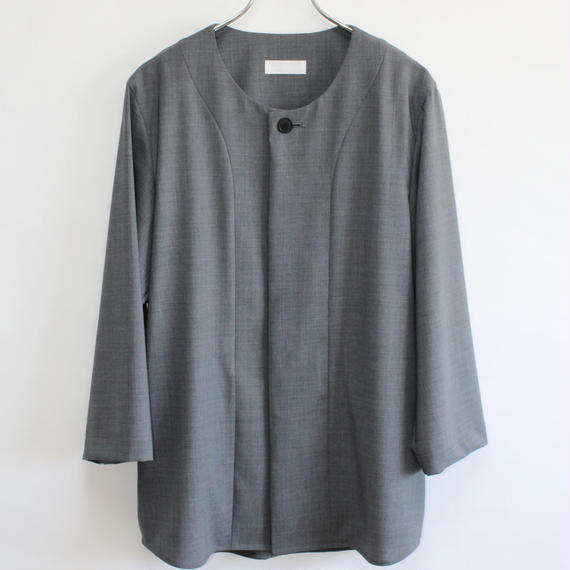 base ball shirt (man) gray