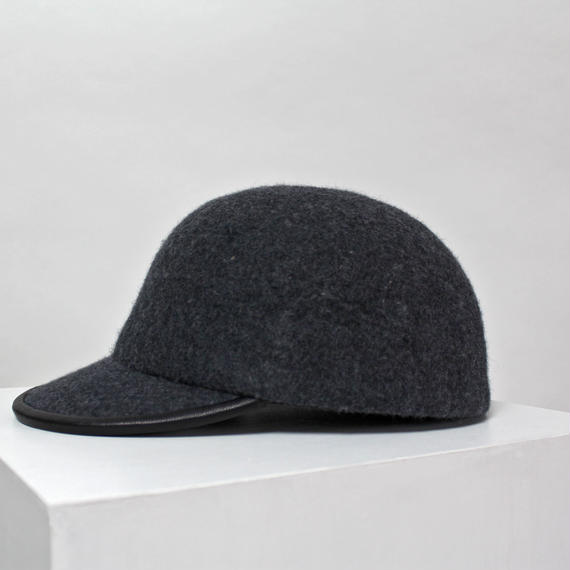 wool cap (man) c.gray