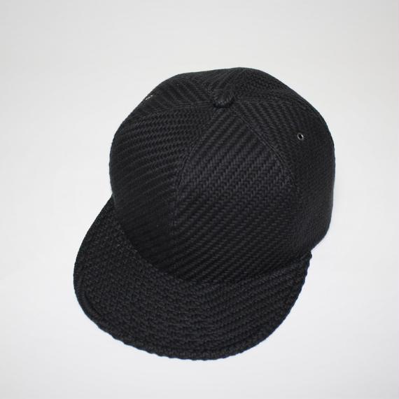 6 panel cap (man) black