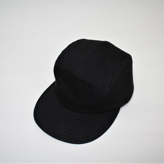 black denim jet cap (man)