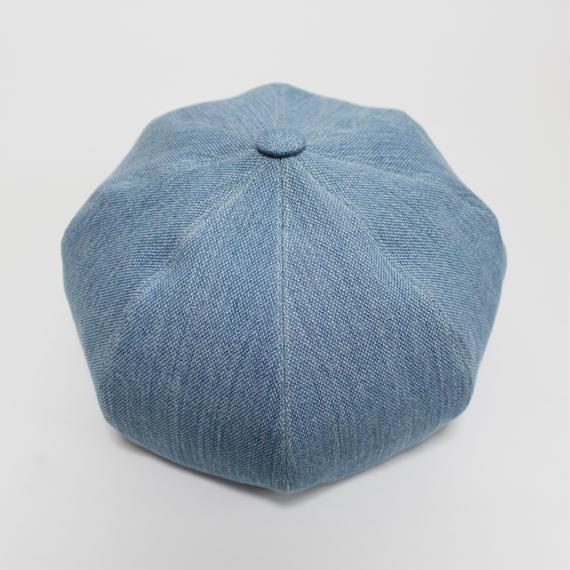 big beret (man) light blue