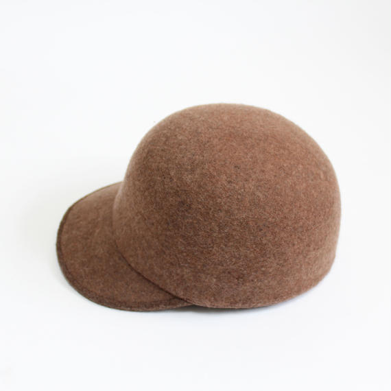 【再入荷リクエスト受付中】wool cap (man) brown