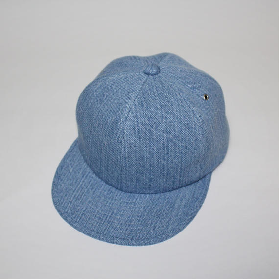 6 panel cap (man) light blue