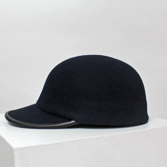 wool cap (man) navy