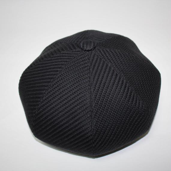 big beret (man) black