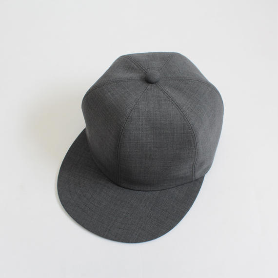 soft 6 panel cap (man) gray