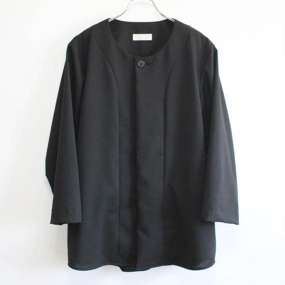 base ball shirt (man) black