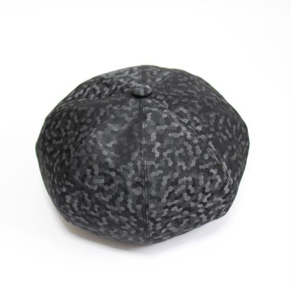 big beret (man) black camo