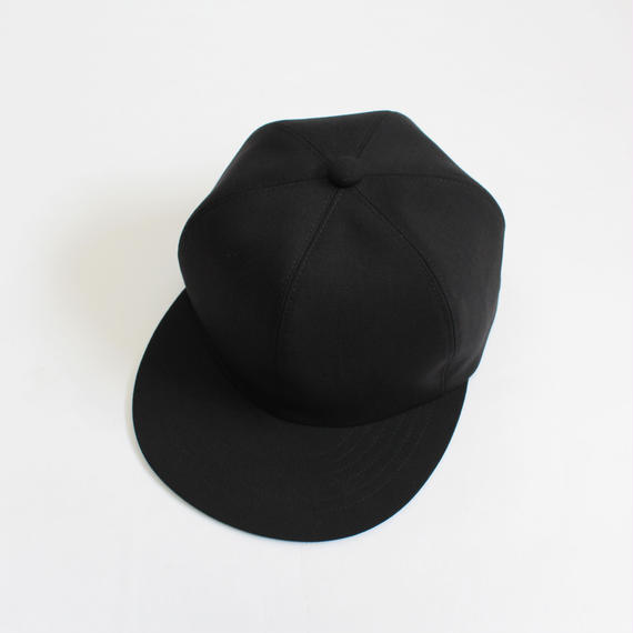soft 6 panel cap (man) black