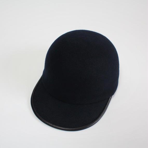 wool cap (man) navy
