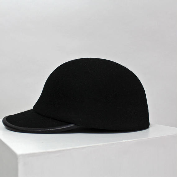 wool cap (man) black