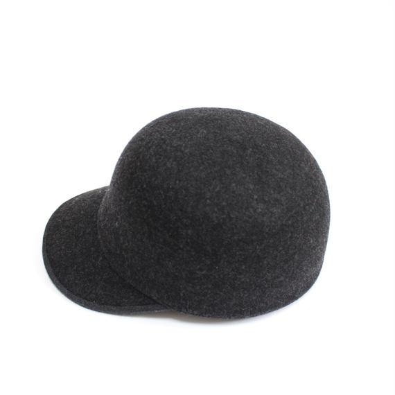 【再入荷リクエスト受付中】wool cap (man) c.gray
