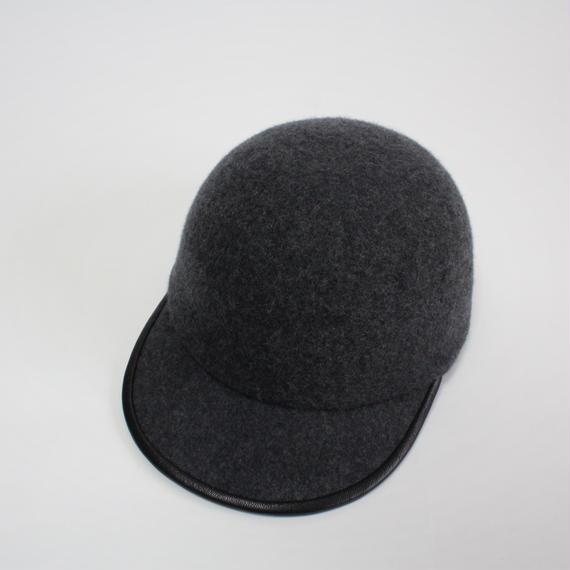 wool cap (man) c.gray