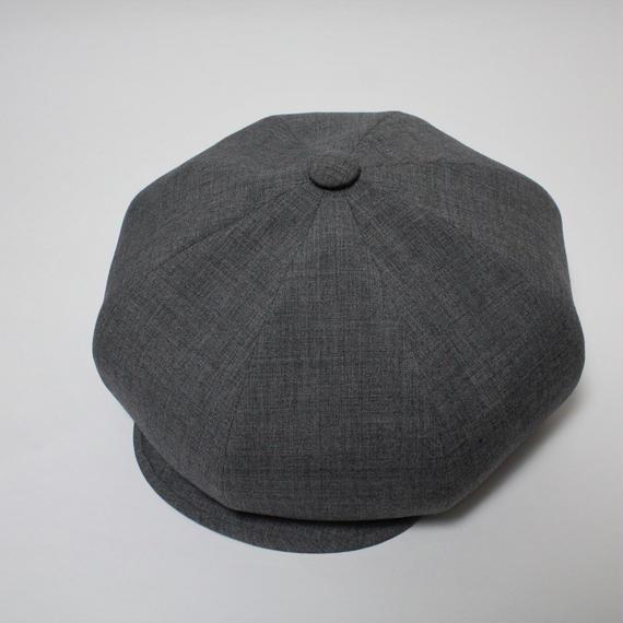 big casquette (man)gray