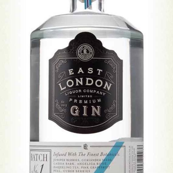 EAST LONDON PREMIUM GIN BATCH NO.1
