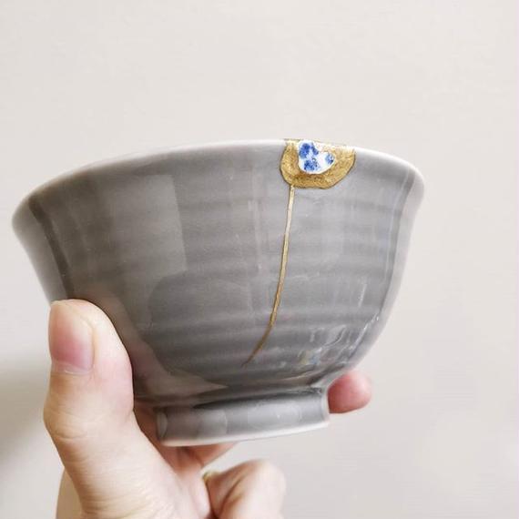 金継ぎ(呼び継ぎ)の茶碗
