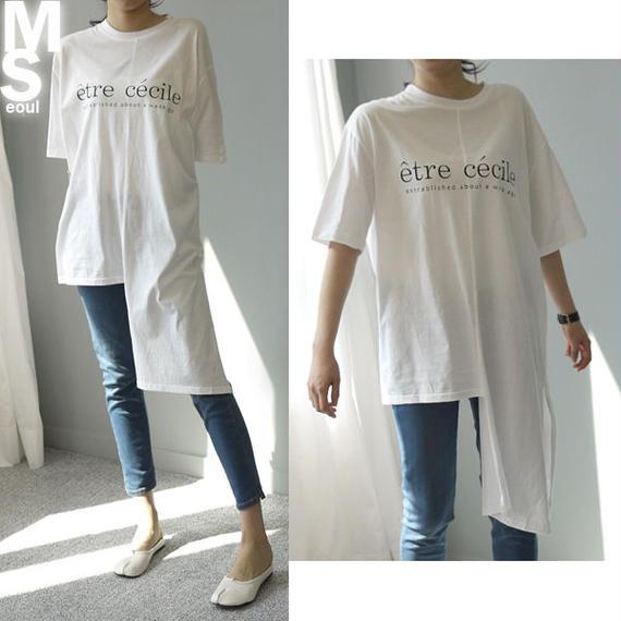 ★送料込◆エトレロングワンピースTシャツ♡大人気♡