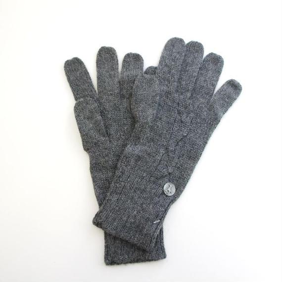 アルパカケーブル手袋 ベビーアルパカ(3色)