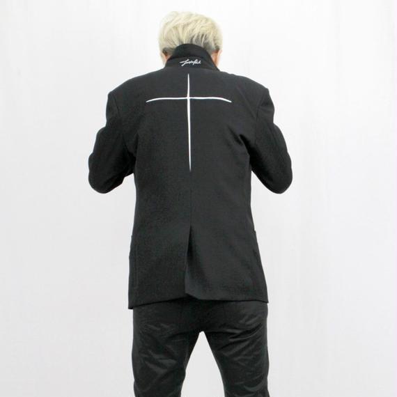 SHOKI JOETAKI wrap all jacket ラップオールジャケット バッククロス