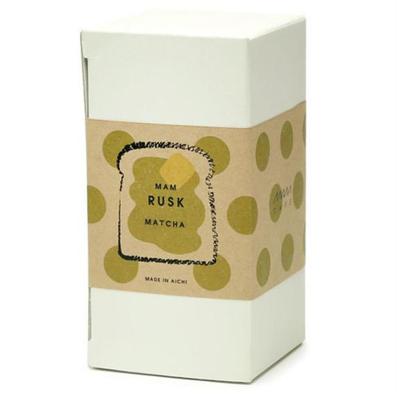 MAM RUSK 抹茶(6枚入り)