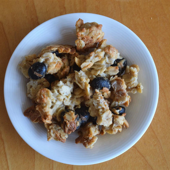 生姜と黒豆のグラノーラ
