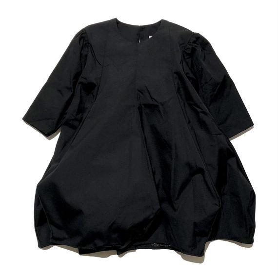 nunuforme / ポインテッドワンピース ブラック95.105.115.125.135.145