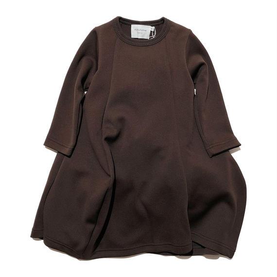 nunuforme / ドレープワンピース ブラウン95.105.115.125.135.145