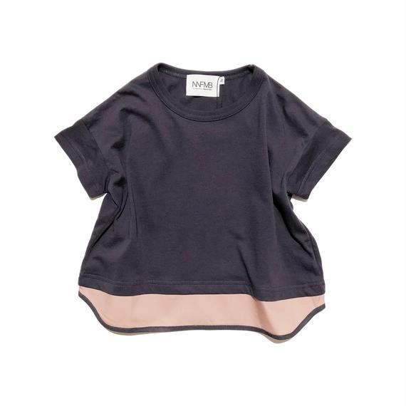NNF MB / ピンクヘムチェンジTシャツ (85-145cm)