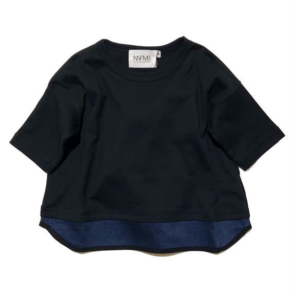 NNF MB / ブラックヘムチェンジTシャツ (85-145cm)