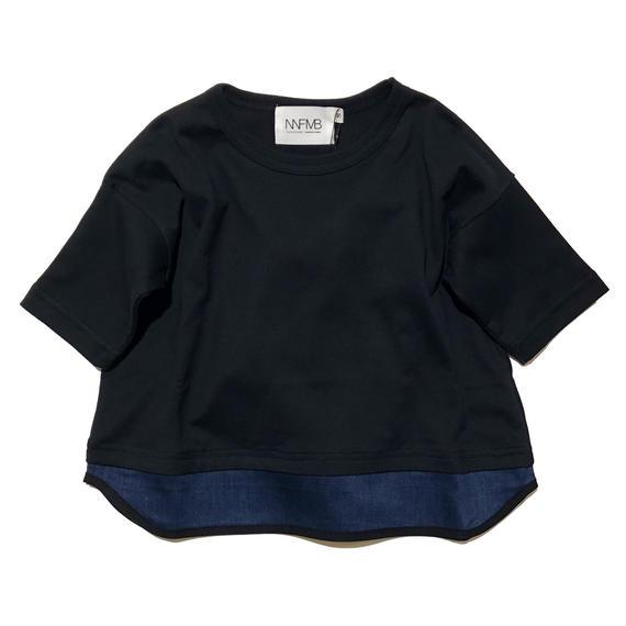 NNF MB / ブラックヘムチェンジTシャツM(メンズ)