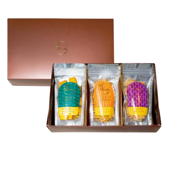 【定期購入】小麦の恵み・ギフトセット(にんじん・かぼちゃ・さつまいも)