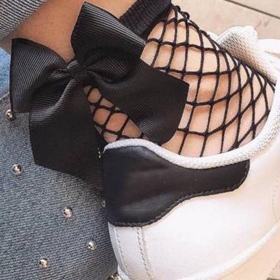 bow on my feet ソックス