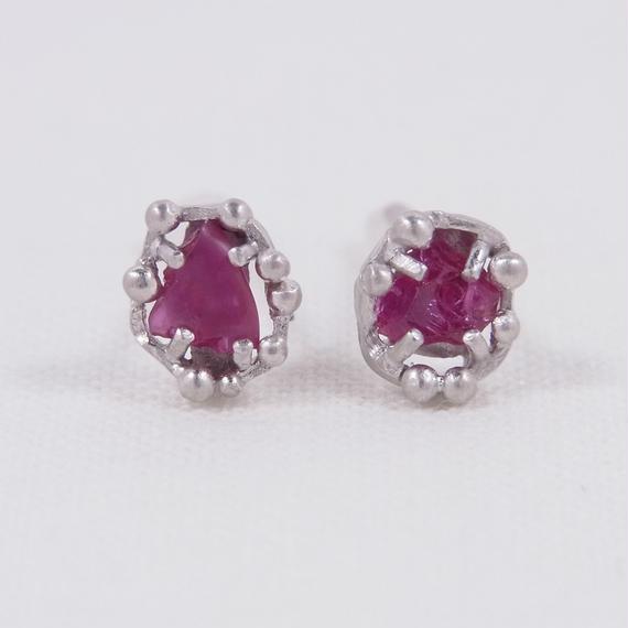 SV Pink sapphire /Earrings