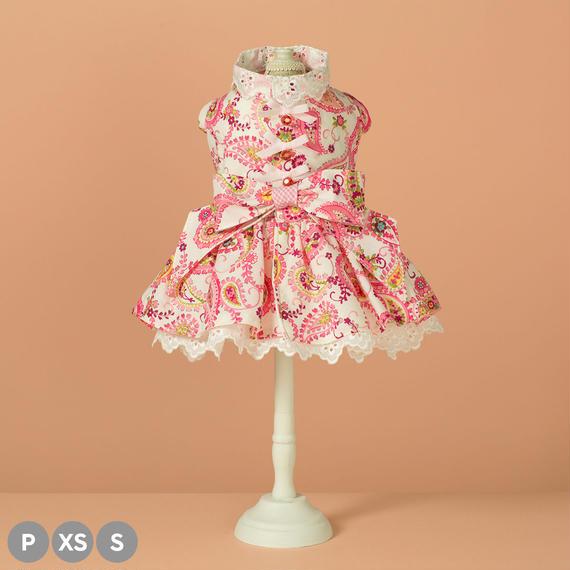 【 Paisley Rose  】ペイズリーローズ  ピンクorレモンイエロー(P / XS / Sサイズ)
