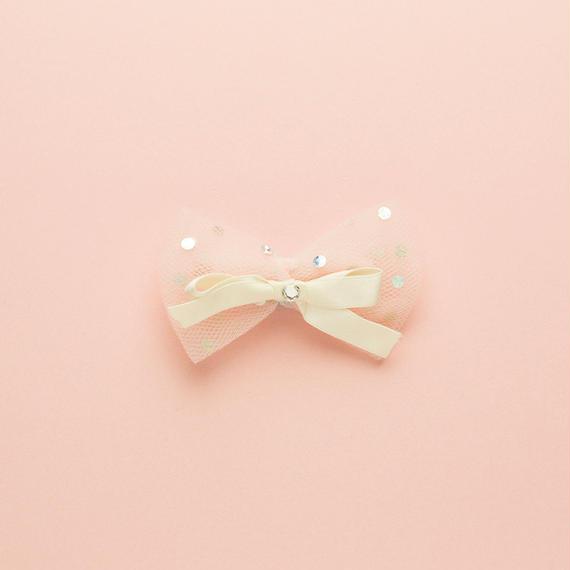 【 Tinker Bell 】ティンカーベル シルクリボンバレッタ