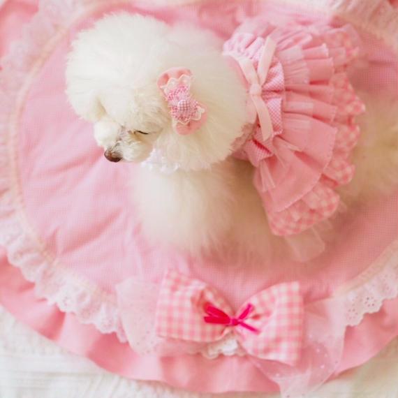 【 Pink millefeuille 】ピンクミルフィーユ カフェマット/Sサイズ