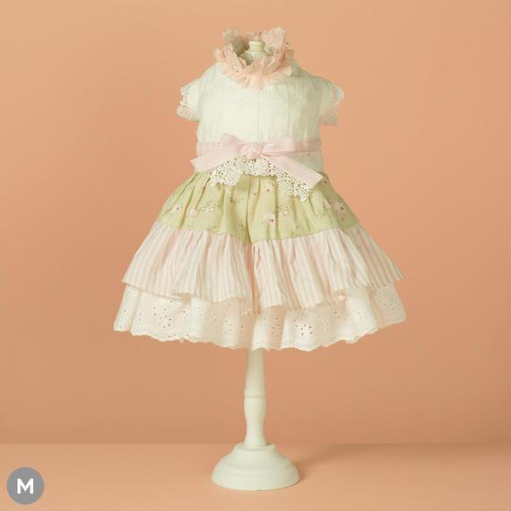 【 Frill Frill Dress (Pink Ribbon) 】フリルフリル・ドレス (ピンクリボン) (Mサイズ)
