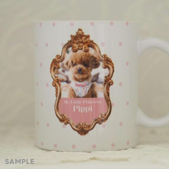"""うちのこの写真で作る!オリジナルマグカップ""""Lovely Mug""""  デザインタイプ:   Pippi (ピッピ)"""