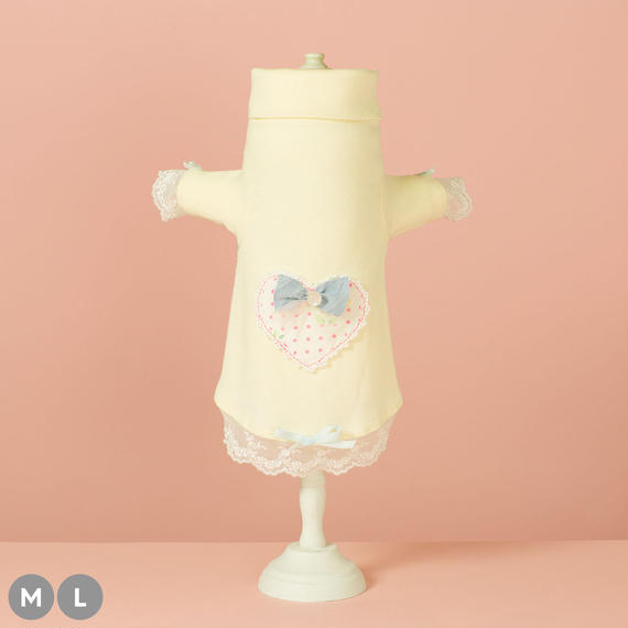 【 Chambre Cœur (Baby Yellow) 】シャンブル・クール (ベイビーイエロー) (M / Lサイズ)