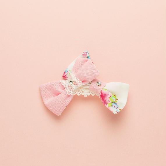 【 Dolly 】ドーリー ヘアバレッタ (ピンク orブルー)