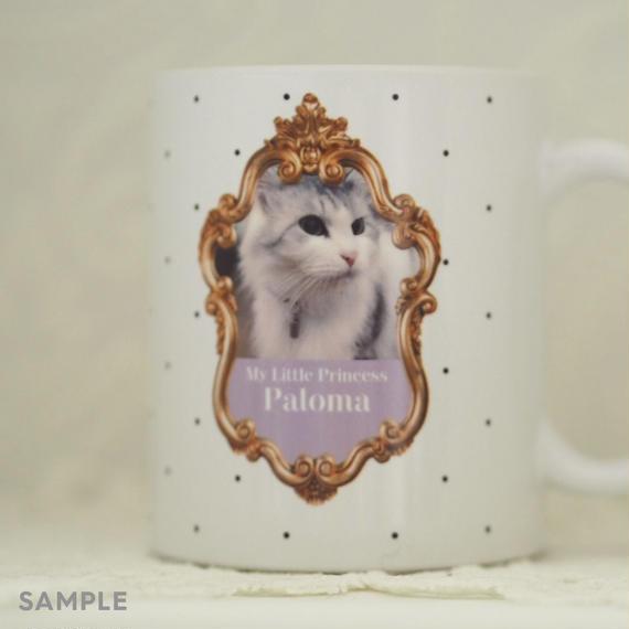 """うちのこの写真で作る!オリジナルマグカップ""""Lovely Mug""""  デザインタイプ:  Paloma(パロマ)"""