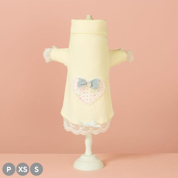 【 Chambre Cœur (Baby Yellow) 】シャンブル・クール (ベイビーイエロー) (P / XS / Sサイズ)