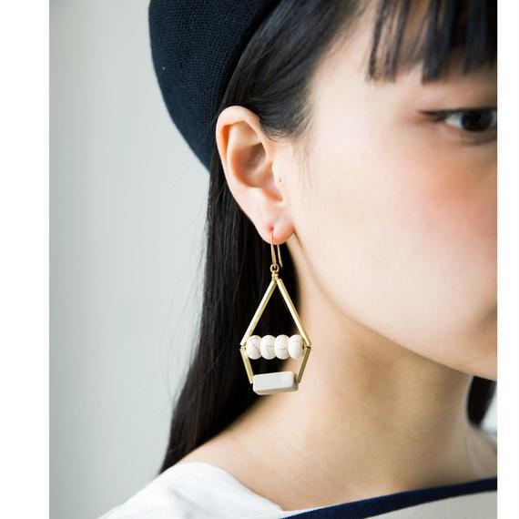 【David Aubrey】Marble Earrings