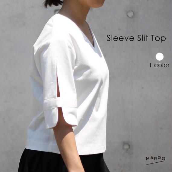 【Mhai】Sleeve Slit Top