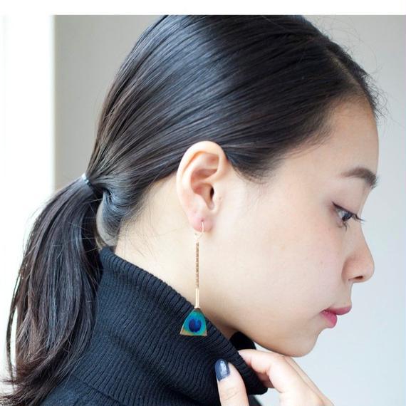 【serefina】Feather Earrings
