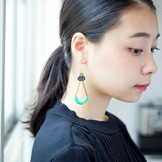 【David Aubrey】Summer Design Earrings
