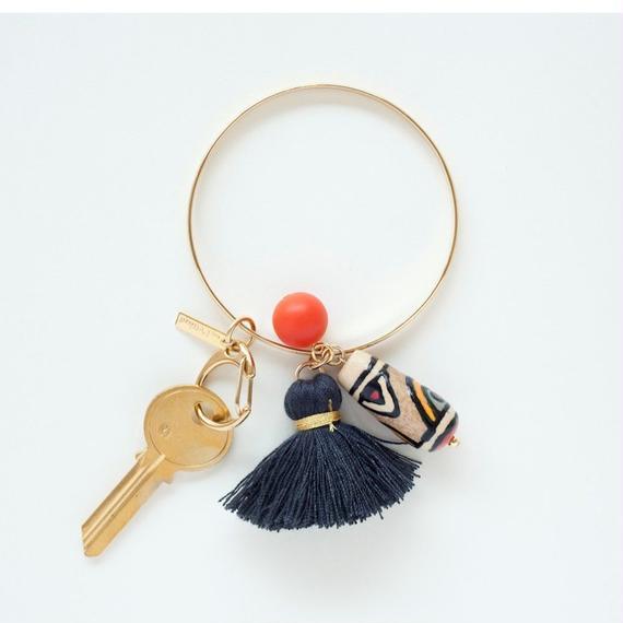 【beq Pettina】Bangle Keychain/Black