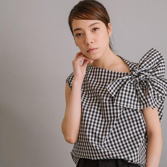 【Liyoca】Gingham Summer Tops